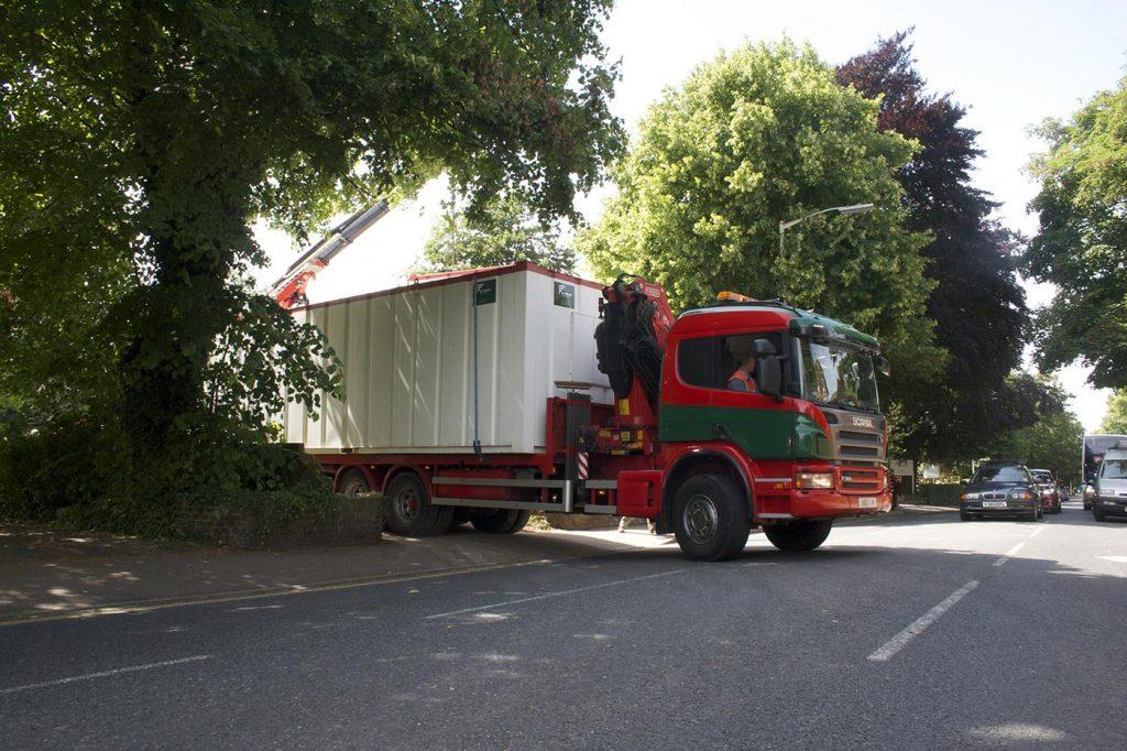 Lorry Mounted Crane Hire