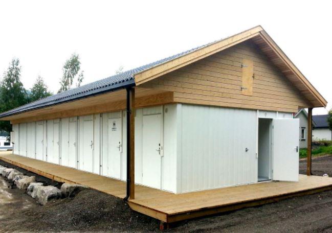 Toilet container unit