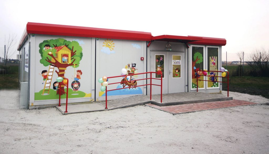 Classroom container unit