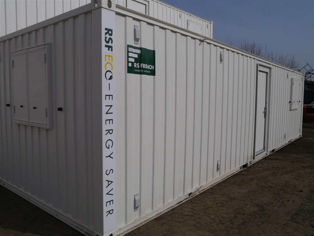 RSF Eco - energy saver container unit